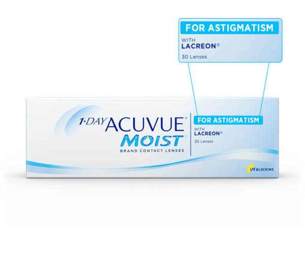 Acuvue contact lenses for Astigmatism